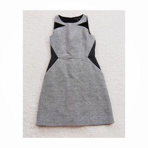 Banana Republic sleeveless tweed shirt dress 0P